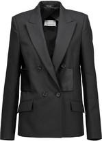 Maison Margiela Satin-paneled wool blazer