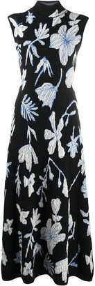 Christian Wijnants Flower Jacquard Dress