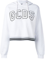 Gcds - printed hoodie - women - Cotton - XL
