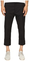 Vivienne Westwood James Bond Stretch Cotton Cropped Trousers Men's Casual Pants