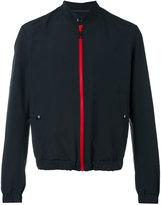 Just Cavalli zipped jacket - men - Cotton/Polyamide - 46