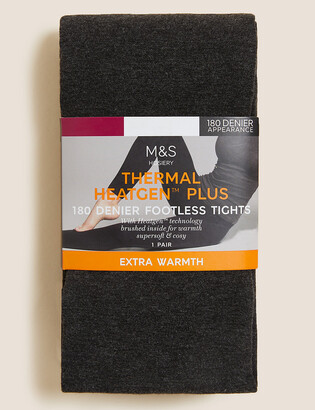Marks and Spencer 180 Denier Heatgen Footless Tights