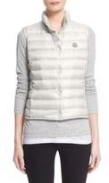 Moncler 'Liane' Water Resistant Short Down Vest