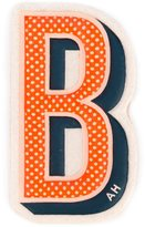Anya Hindmarch 'B' sticker