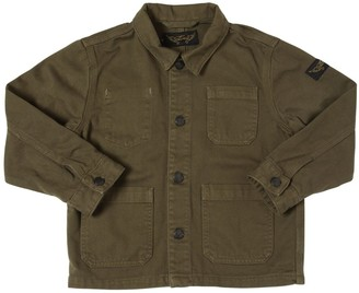 Finger In The Nose Cotton Gabardine Jacket