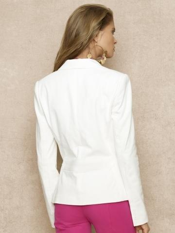 Ralph Lauren Blue Label Cotton Crest Blazer