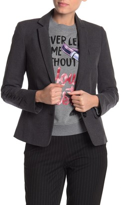Love Moschino Front Button Solid Blazer