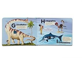 Melissa & Doug Poke-a-Dot: Dinosaurs A to Z Board Book