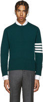 Thom Browne Green Cashmere Pullover