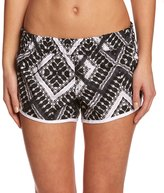 "Hurley Women's Supersuede Printed Mosaic 2.5"" Beachrider Boardshort 8151951"