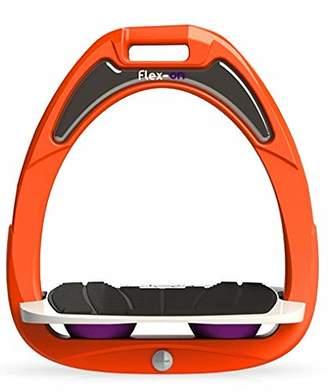Flex on Green Composite Junior Range Junior Inclined Ultra-Grip Frame Color: Orange Footbed Color: Gray ELASTOMERS:
