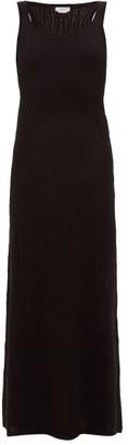 Gabriela Hearst Lissa Cashmere-blend Mesh Dress - Womens - Black