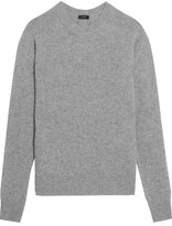 Joseph Button-detailed Cashmere Sweater - Gray