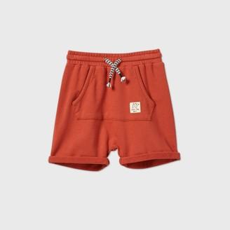 Toddler Boys' Front Pocket Pull-On-Shorts - art classTM Rust