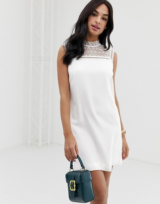 Ted Baker Carsey tunic dress with lace yoke