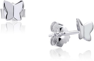 SIA Shafer Painted Lady Studs Silver