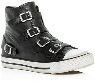 Ash Women's Virgin Leather High Top Sneakers