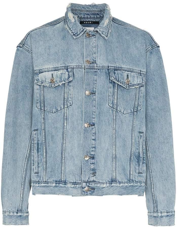 Ksubi blue acid trip denim jacket