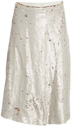 Samsoe & Samsoe Beige Polyester Skirts
