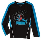 Puma Boys' Geometric Shirt.