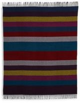 Paul Smith Block Striped Wool Scarf