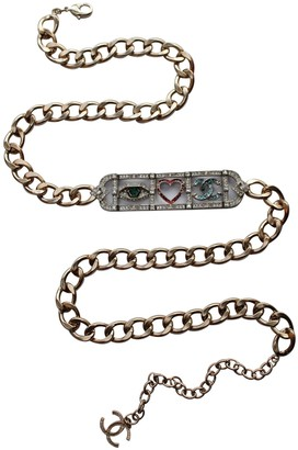 Chanel Other Metal Belts