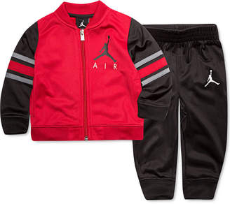 Jordan Little Boys 2-Pc. Varsity Jacket & Jogger Pants Track Suit Set
