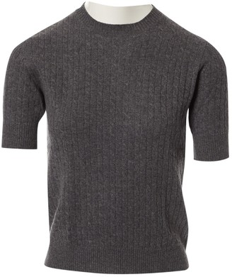 Christian Dior Grey Cashmere Tops