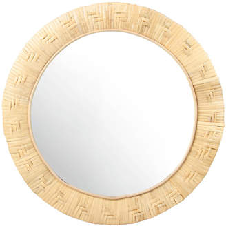 K Levering &Klevering - Round Bamboo Mirror