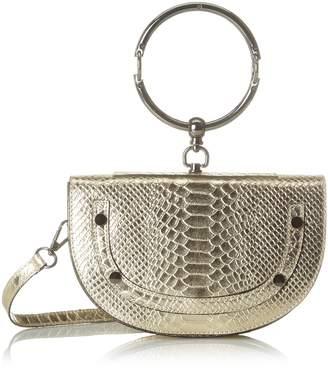 Argento Chicca Borse Women's CBS178484-402 Shoulder Bag Silver Silver