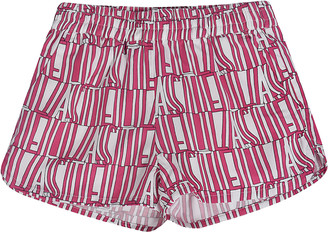 Stella Mccartney Kids All-over Logo Print Shorts