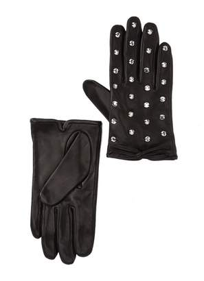 Kate Spade Bedazzled Leather Gloves
