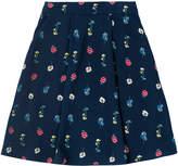 Cath Kidston Lulworth Flowers Crepe Skirt