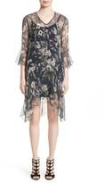 Fuzzi Women's Silk Chiffon Dress