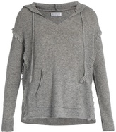 Velvet by Graham & Spencer Jacqueline hooded cashmere top