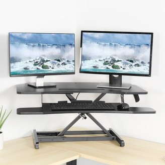 Vivo Corner Height Adjustable Standing Desk