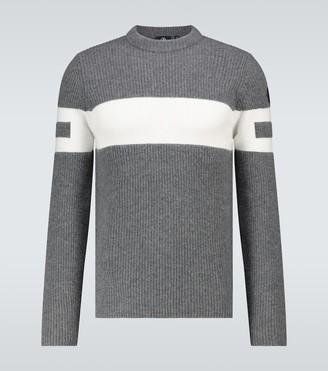 Fusalp Celestin striped crewneck sweater