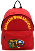 DSQUARED2 Wood Brothers backpack
