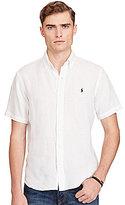 Polo Ralph Lauren Short-Sleeve Linen Solid Woven Shirt