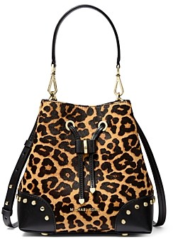 MICHAEL Michael Kors Mercer Gallery Small Cheetah Print Bucket Bag