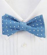 Daniel Cremieux Dot Denim Bow Tie