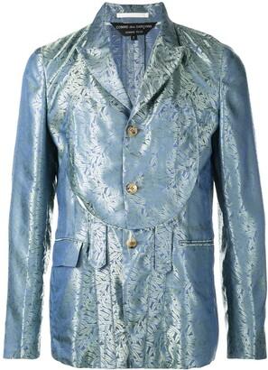 Comme des Garcons jacquard blazer