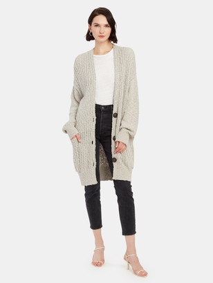 Free People Sunset Drive Knee Length Cardigan