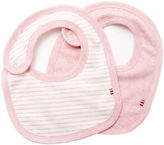 Giggle Organic Cotton Baby Bib - Heathered 2-Pack