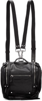 McQ by Alexander McQueen Black Mini Convertible Box Backpack