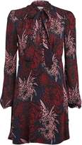 A.L.C. Emery Floral Silk Mini Dress