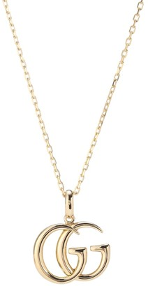 Gucci Double G 18kt yellow gold necklace
