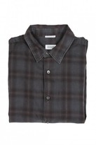 CLOSED Ted Button Down - Coffee