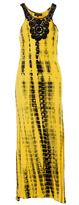 Club Z Yellow & Black Crochet-Accent Cover-Up