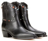 Valentino Garavani Embellished cowboy boots